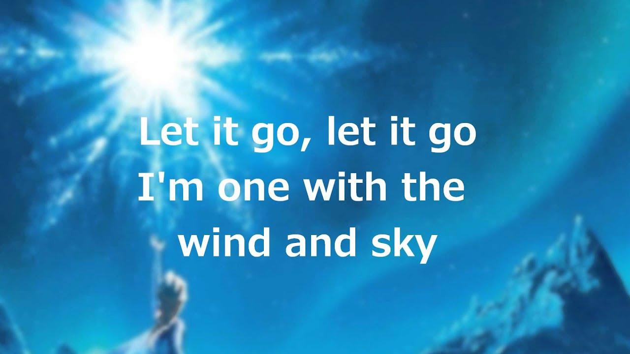 Let it go lyrics frozen. Frozen let it go song lyrics disney 22 x.