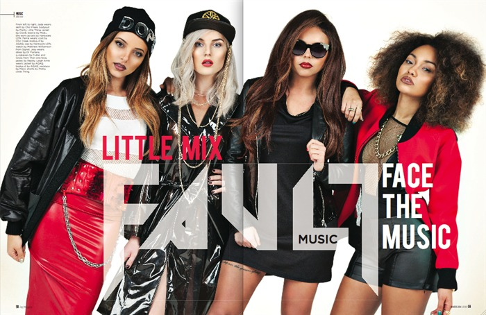 Little Mix wears Jayne Pierson